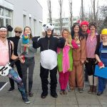 imc employees in fancy dress