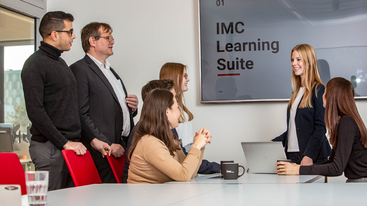 imc employees sharing expertise