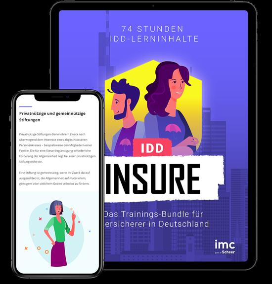 E-Learning Bundle Versicherungsvertriebsrichtlinie IDD Deutschland