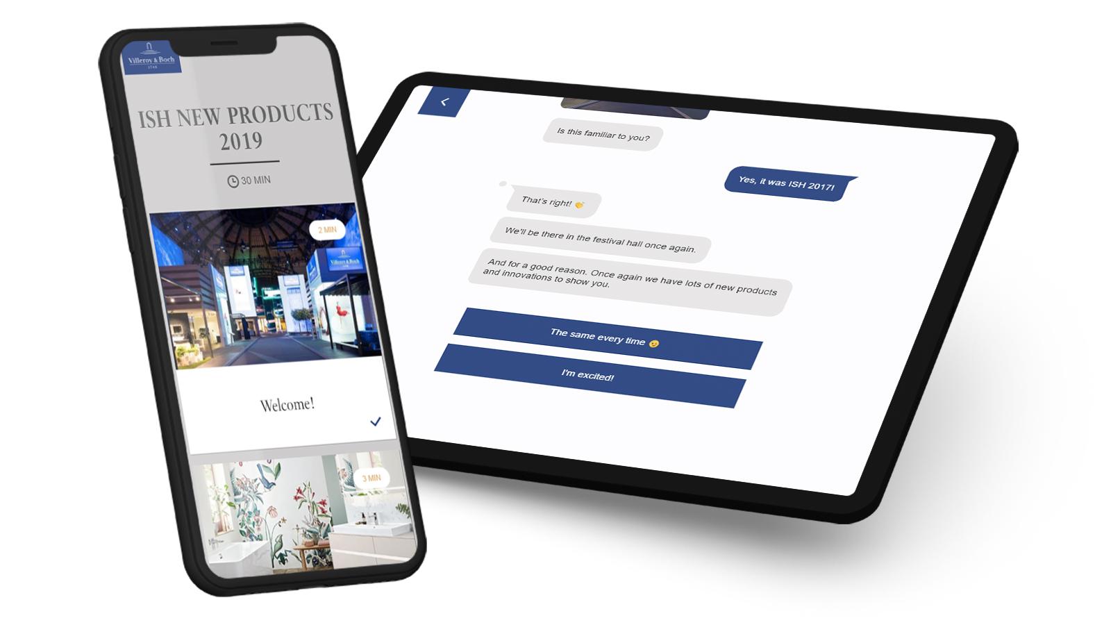 case study chatbot web based training kundenreferenz villeroy boch